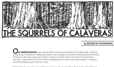 The Squirrels of Calaveras Campground Story